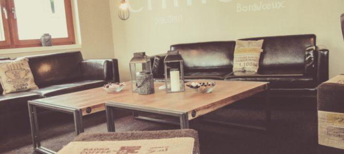 Neues Interieur im Café Meier  